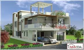 multi story house plans 3d 3d floor plan design modern double storey elevation two storey house elevation 3d front view