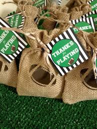 football favors day football party black twine