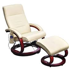 Rocking Chair Png Cream White Electric Tv Recliner Massage Chair With Footstool