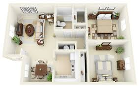 floor plans for two homes 50 two 2 bedroom apartment house plans architecture design