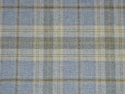 Upholstery Fabric Edinburgh Cornflower Blue Wool Tartan Curtain Upholstery Fabric Extension