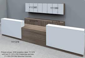 Ada Reception Desk Custom 2 Person Reception Desk 16 W Desk