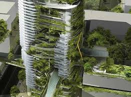 Eco Friendly Architecture Concept Ideas Organic Shapes And Ravishing Sky Gardens Parkroyal Hotel