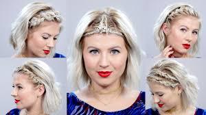 braided headbands 5 braided headbands for hair tutorial milabu