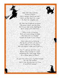 Scary Halloween Poems The Switch Witch Poem Love The Idea Of Letting Jack Trade Candy