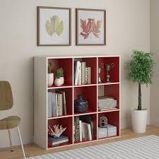 Cube Storage Shelves Bookcases Beautiful Storage Cube Bookshelf White 16 Cube Wood Organizer