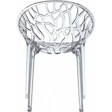 Chaise Design Transparente Pas Cher by La Chaise Crystal Avec Sa Forme Originale Est En Plexi