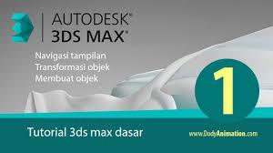 jual tutorial autocad bahasa indonesia tutorial 3ds max untuk pemula bag 1 youtube
