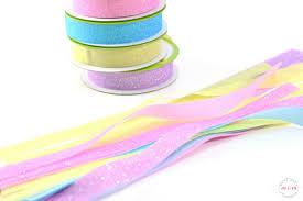 easter ribbon diy dollar tree ribbon wand easter craft must