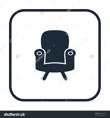 Office Chair Top View Clipart Vector In The Living