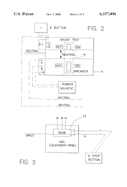 patent us6157096 neutral switched shunt trip emergency gas panel