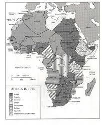 Map Of Colonial Africa by Map Of Africa 1914 Deboomfotografie