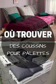 grand coussin pour canapé coussin pour palette où trouver des coussins pour meubles en
