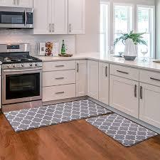 corner cabinet kitchen rug kmat kitchen mat 2 pcs cushioned anti fatigue kitchen rug waterproof non slip kitchen mats and rugs heavy duty pvc ergonomic comfort foam rug for