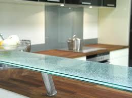 tablette pour cuisine crédence en verre sur mesure pour cuisine righetti