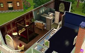 Sims 3 Mansion Floor Plans The Sims 3 Room Build Ideas And Examples