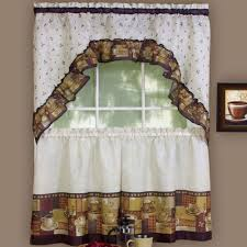 coffee themed home decor kitchen nice coffee themed kitchen decor curtains simple