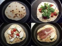 cuisiner sans four mini pizzas sans four