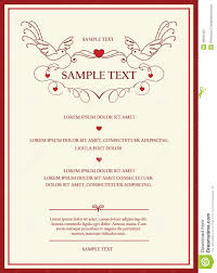 Wedding Invitation Card Template Word Wedding Invitation Cards Images Villa Design Vacation Rental