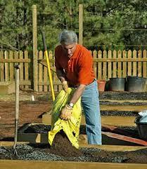 soil prep for the vegetable garden growing a greener world