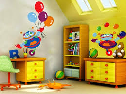 Of Late Wall Painting Designs For Girls Thraamcom - Kids bedroom paint designs
