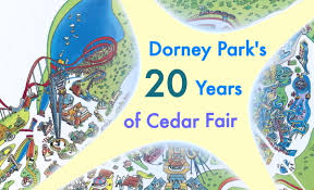 cedar fair parks map newsplusnotes dorney park s 20 years of cedar fair part 1