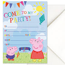 peppa pig party bags peppa pig games u0026 party supplies party ark