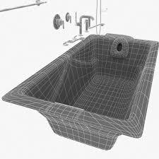 Waterworks Kitchen Faucets by Waterworks Plumbing Fixtures Kohler Bathtub Duravit Toilet 3d