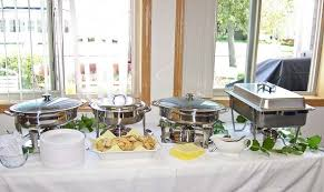 how to set a buffet table with chafing dishes bulletin 427 august 22 2010