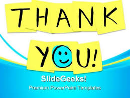 powerpoint presentation templates for thank you thank you powerpoint templates backgrounds presentation slides ppt