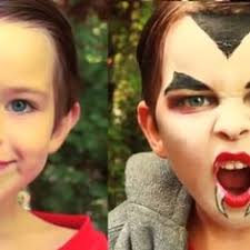how to apply kids u0027 vampire makeup scary child and makeup