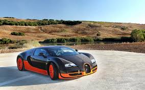 gold bugatti veyron super sport wallpaper