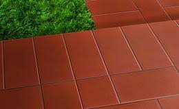 piastrelle x esterni pavimento esterno liscio 7 5x15x0 8 cm rosso pei 5 r9 gres rosso