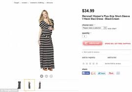 thief black friday ad target shoppers slam target for showing u0027plus size u0027 dress on pregnant
