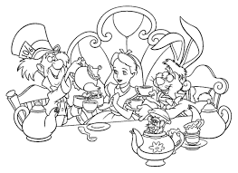alice in wonderland color pages alice in wonderland coloring pages archives coloringsuite com