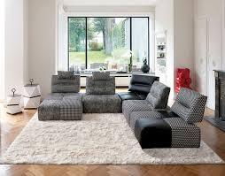 canapé style togo chauffeuse salon les modèles tendance côté maison