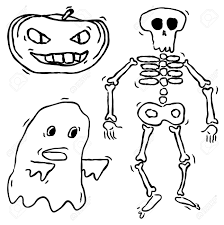 Halloween Skeleton Craft by Halloween Skeleton Drawing U2013 Fun For Halloween