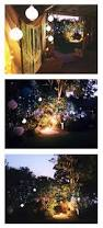 backyard flood light installation home outdoor decoration