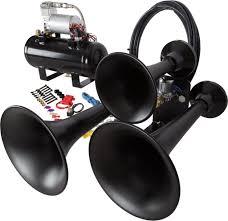 all products hornblasters hornblasters outlaw 127v black train horn kit