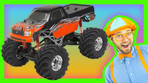 monsters truck videos monster trucks for kids learn numbers and colors youtube