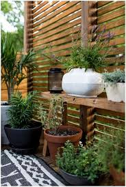 backyards stupendous patio slatted privacy screen with built in