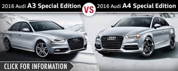 audi a4 comparison audi sedan model comparisons naperville il