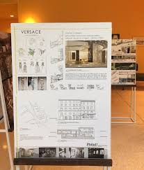 architecture and design students u0027 work on display in italian