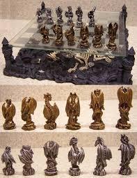 fantasy chess set 30 unique home chess sets