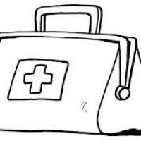 doctor bag coloring page coloring pages ideas
