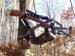 tree stand gun holder bar mount hp archery