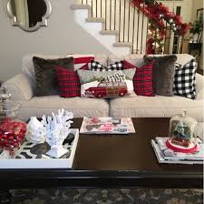 affordable buffalo plaid christmas decor on a budget 1