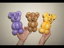 teddy bears inside balloons how to make teddy from balloon