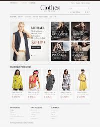design online clothes custom website design fashion for online clothes custom website