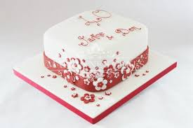 ruby wedding cakes 40th anniversary sheet cakes search 40th anniversary